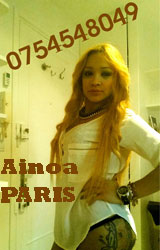Escort Paris Ainoa girl
