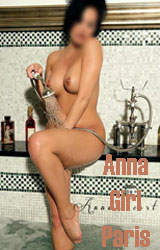 Escort girl Anna Paris