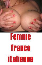 Escort femme franco italienne