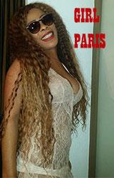 Belle metisse et sensuelle Paris